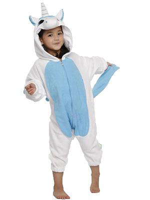 e413a9a0570e Blue Unicorn Kid Onesie